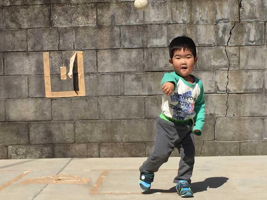 2歳児野球04