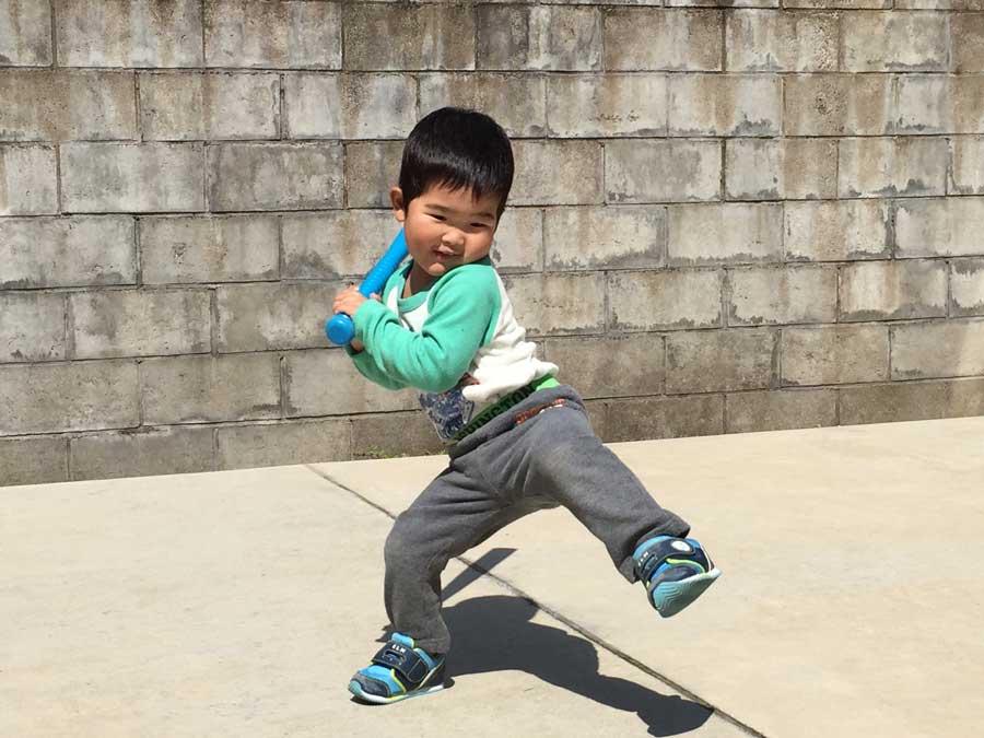 2歳児野球11