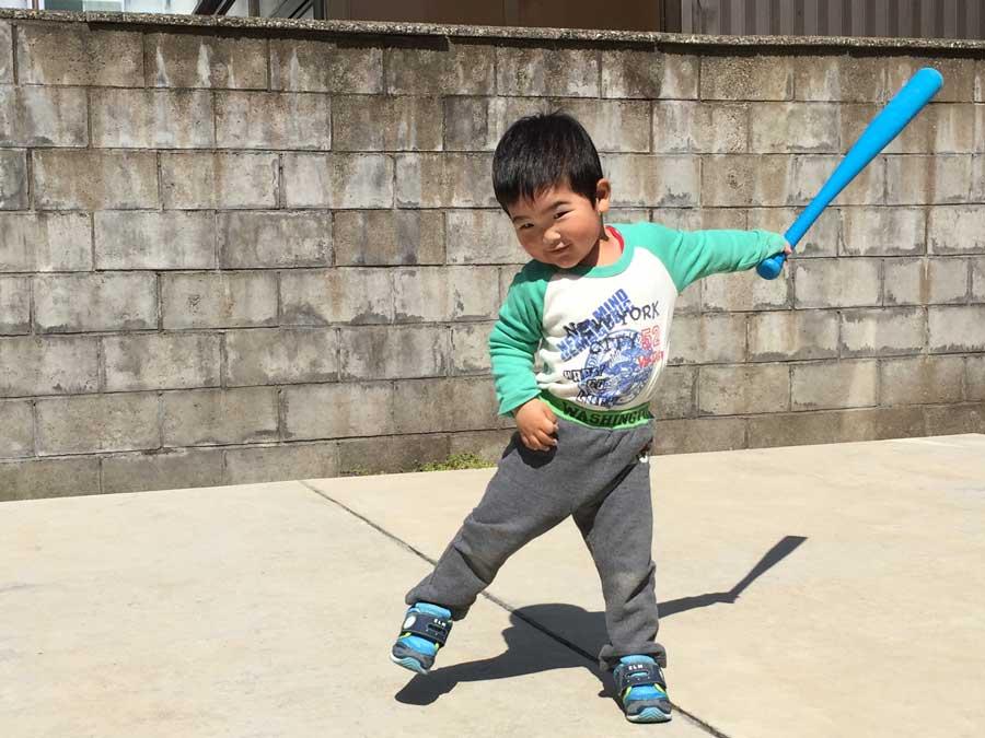2歳児野球12