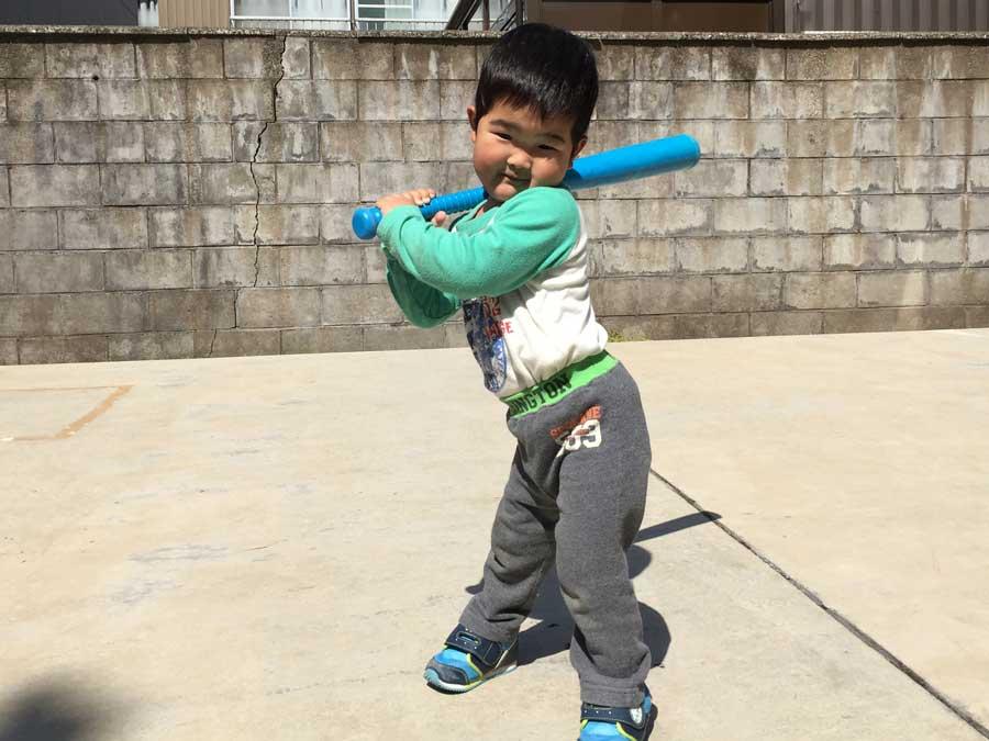 2歳児野球13