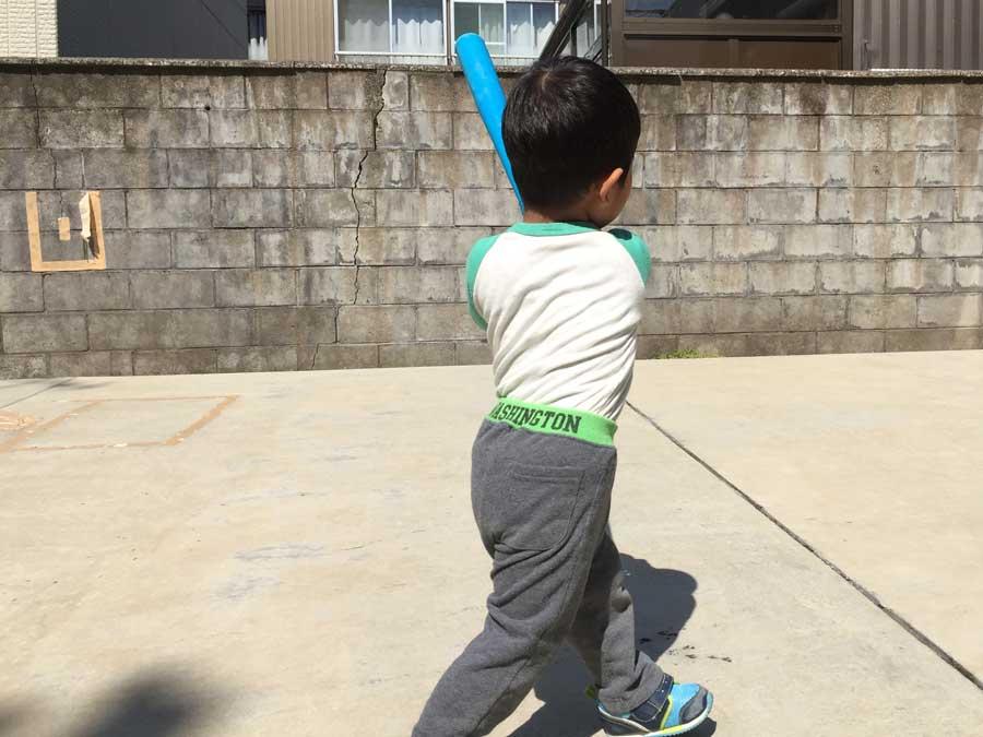 2歳児野球14