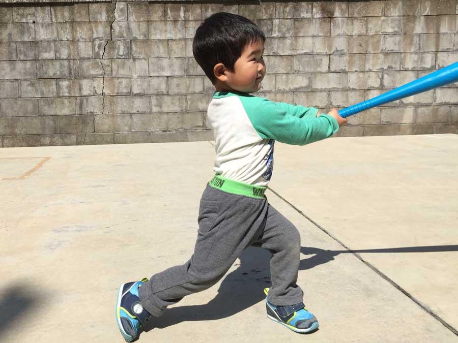2歳児野球15