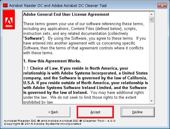 AdobeAcroCleaner_DC2015プログラム画面2