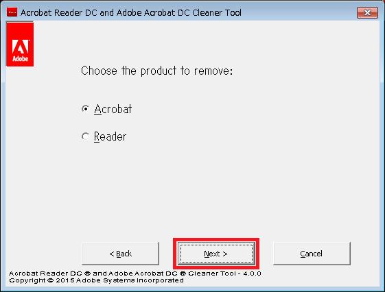 AdobeAcroCleaner_DC2015プログラム画面3