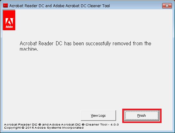 AdobeAcroCleaner_DC2015プログラム画面7