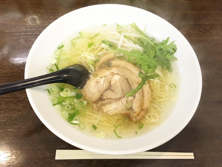 真竜ラーメン_塩ラーメン(極細麺)