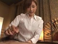 絵色千佳 美人回春マッサージ嬢の超絶亀頭責め手コキ