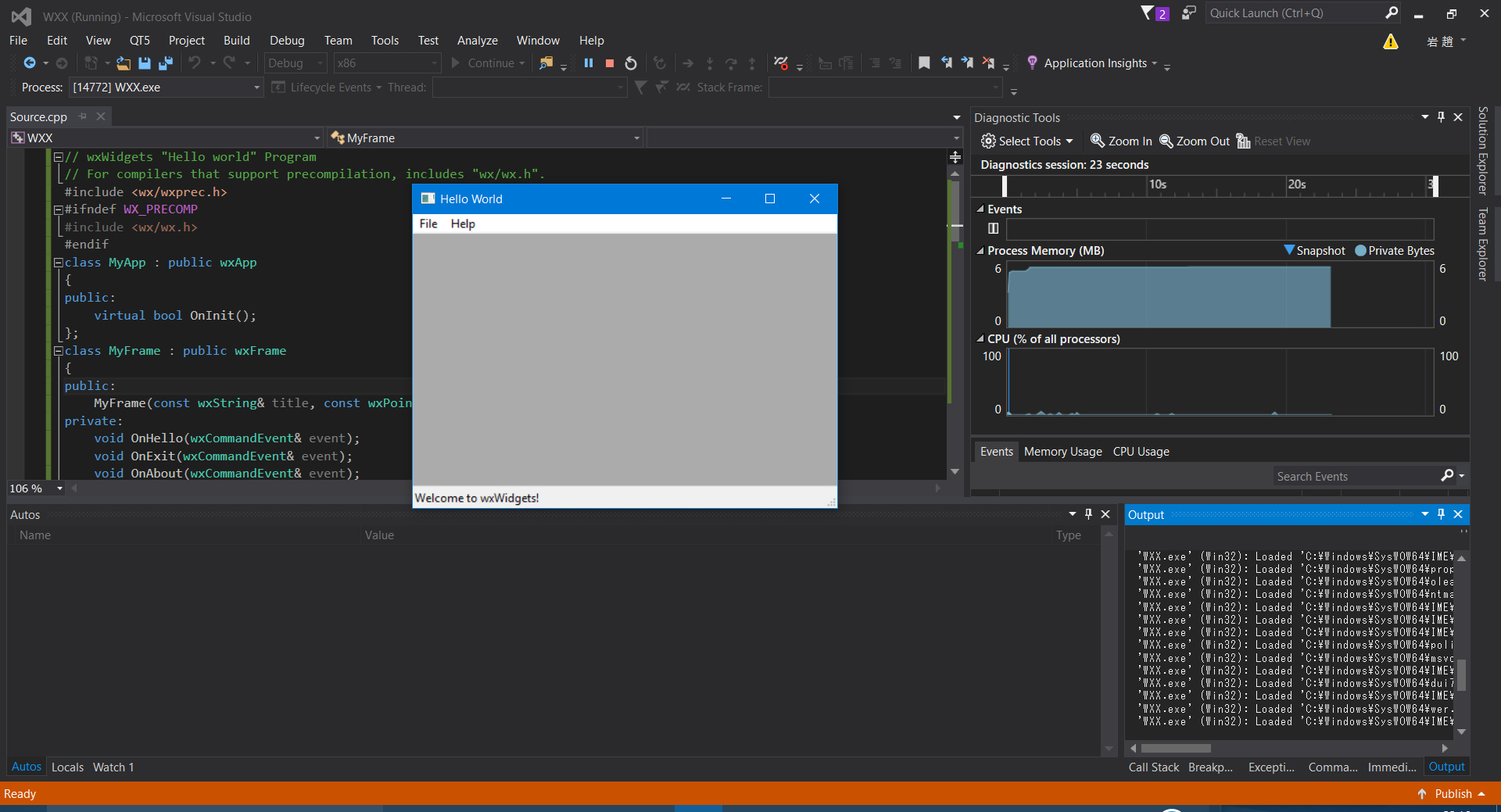 Build Wxwidgets Visual Studio