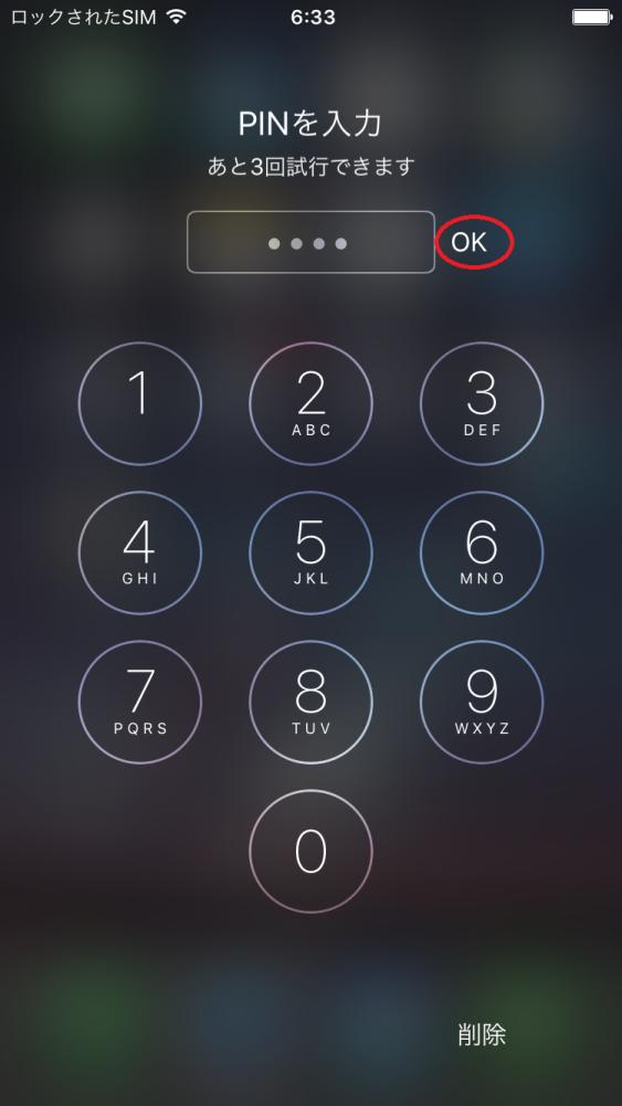 SIM PINの設定22