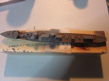 島風船体塗装リノ