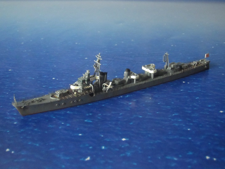 駆逐艦島風タミヤ1