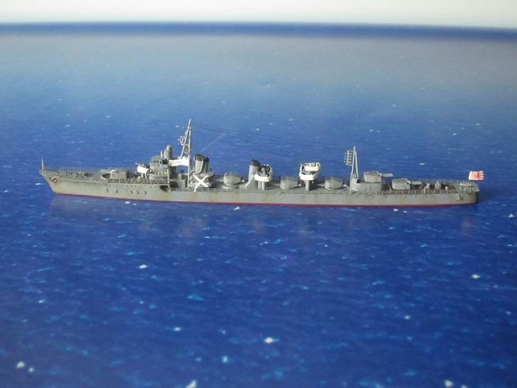 駆逐艦島風タミヤ左