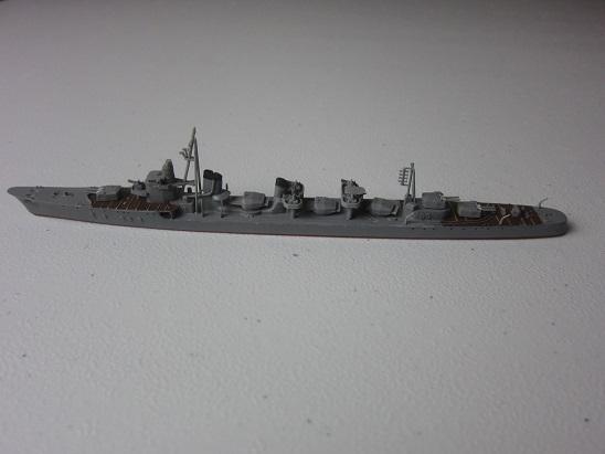 島風タミヤ艦上大まか装備完成