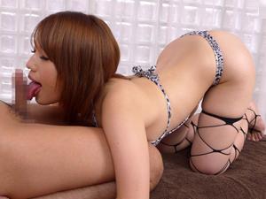 【本田莉子】巨乳美女がベロチュウと濃厚フェラ、密着SEXで癒してくれるメンズエステ