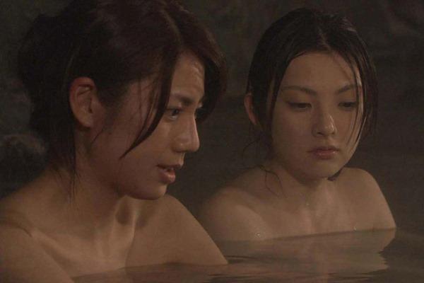 松下奈緒の全裸入浴ヌード画像