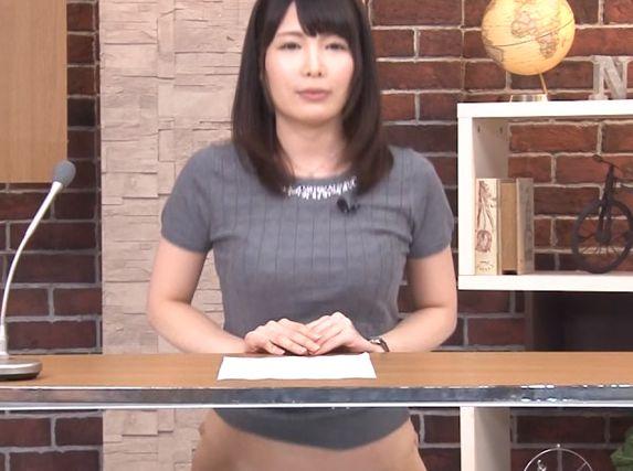 ニュースがいつしか下品な淫語満載のニュースに…シコシコしながら見る究極のニュース番組です!椎名りりこ