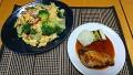 ぶりの照り焼き ブロッコリーと卵の炒め物 20180321
