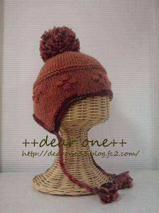 耳当て付きベビーニット帽151205_5