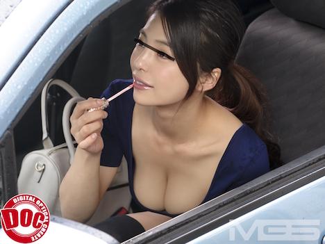 【新作】目の前に止まった車の助手席にいる、すまし顔した女の胸があまりにも大きくて… 6 2