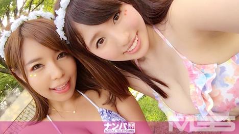 【ナンパTV】泡フェスナンパ 02 in 大阪 さら 25歳 営業職 しほ 23歳 通販会社勤務 1