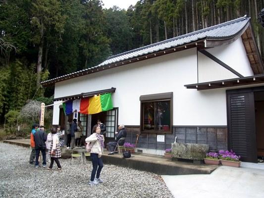 集会所兼用の法雲寺のお堂