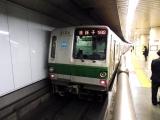 東京メトロ6000系 6104F 明治神宮前にて