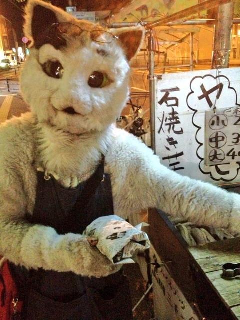 焼き芋猫2