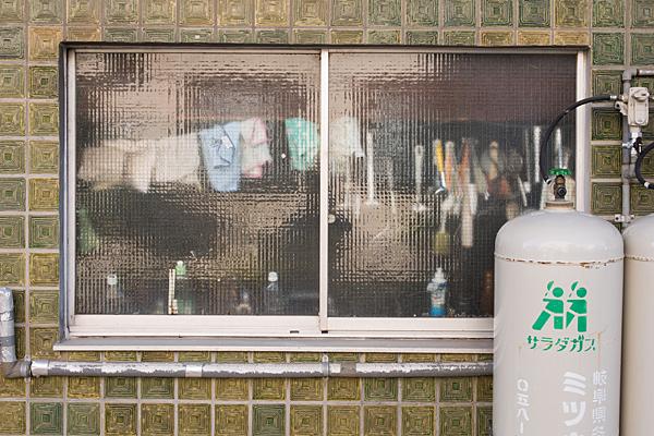 生活感のある窓