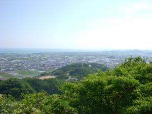 山からの眺望