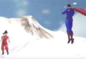 『悟空vsスーパーマン』で、最後はスーパーマン勝ったけど