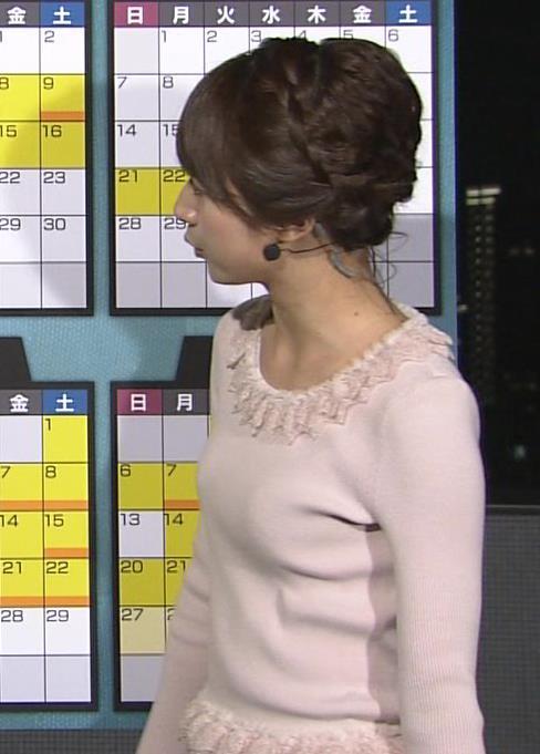 林美沙希 セーターおっぱいキャプ画像(エロ・アイコラ画像)
