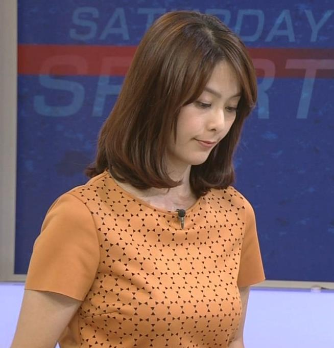 杉浦友紀 巨乳美人アナ