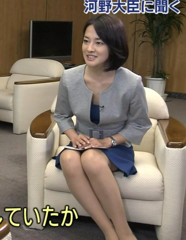 鈴木奈穂子 ミニスカ美脚