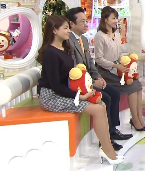 永島優美 ミニスカート画像2