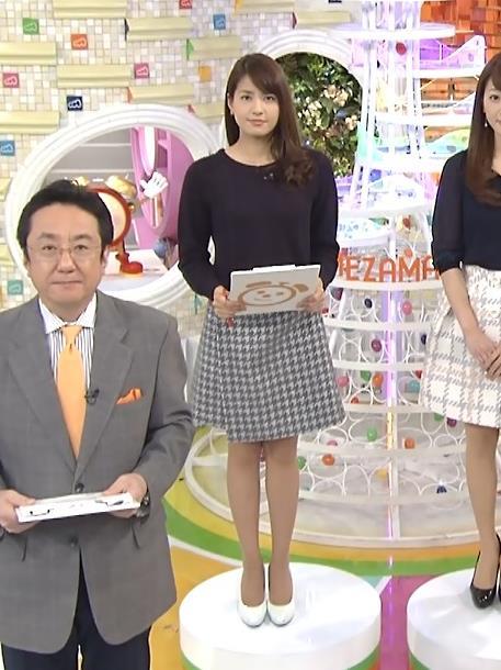 永島優美 ミニスカート画像5