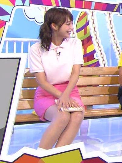 宇垣美里 ミニスカート画像2