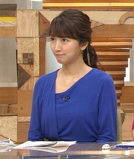 三田友梨佳 青い服キャプ画像(エロ・アイコラ画像)