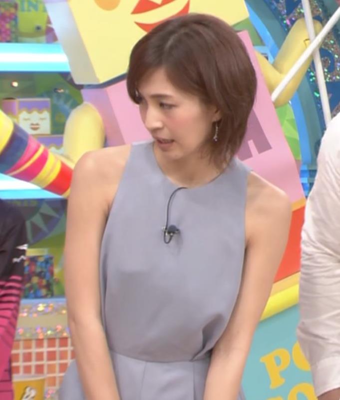 安田美沙子 両肩露出がとてもセクシーキャプ画像(エロ・アイコラ画像)