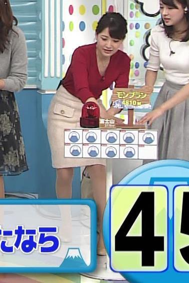 小熊美香 タイトスカートがエロいキャプ画像(エロ・アイコラ画像)