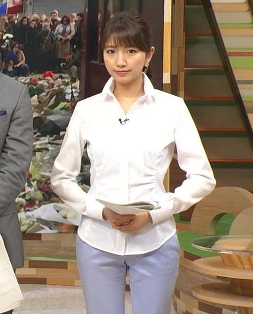 三田友梨佳 パンツスタイル (20160225)キャプ画像(エロ・アイコラ画像)