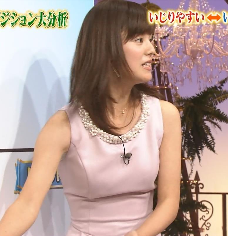 増田麻衣子 ドレスの乳袋キャプ画像(エロ・アイコラ画像)