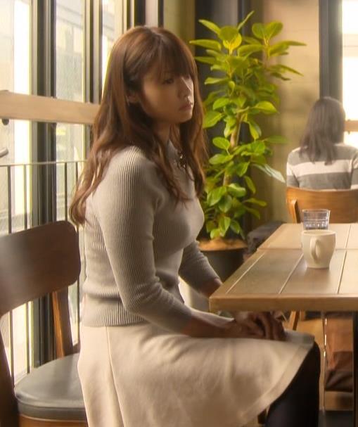 深田恭子 極上のニットおっぱいキャプ画像(エロ・アイコラ画像)