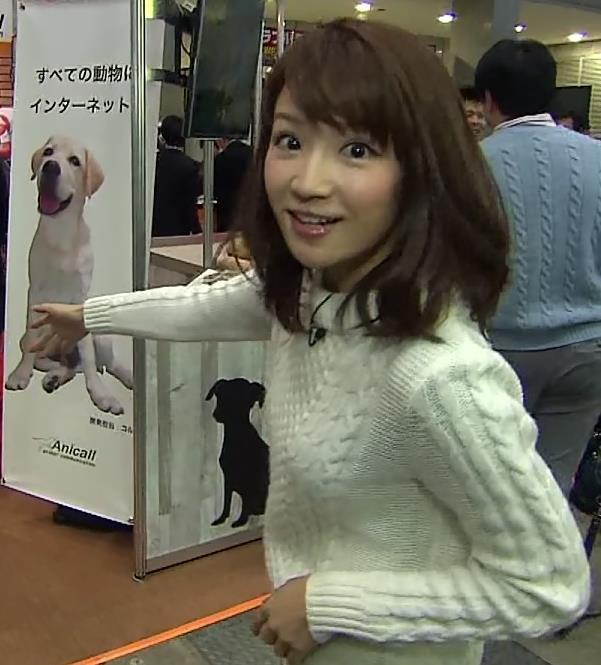 長野美郷 ニット横乳キャプ画像(エロ・アイコラ画像)