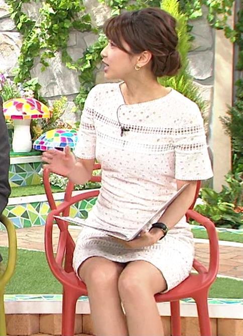 加藤綾子 太もも画像3