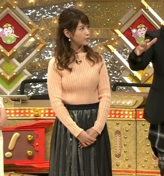舟山久美子 くみっきーの巨乳が際立ってるキャプ画像(エロ・アイコラ画像)