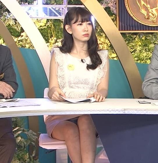 小嶋陽菜 パンチラサービスキャプ画像(エロ・アイコラ画像)