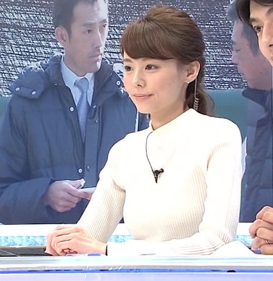宮澤智 ニットおっぱいキャプ画像(エロ・アイコラ画像)
