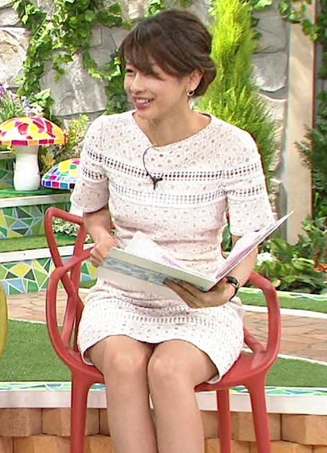 加藤綾子 太もも&▼ゾーン
