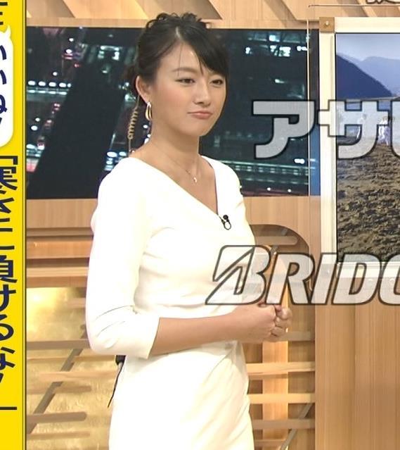 大島由香里 大人のセクシーワンピースキャプ画像(エロ・アイコラ画像)