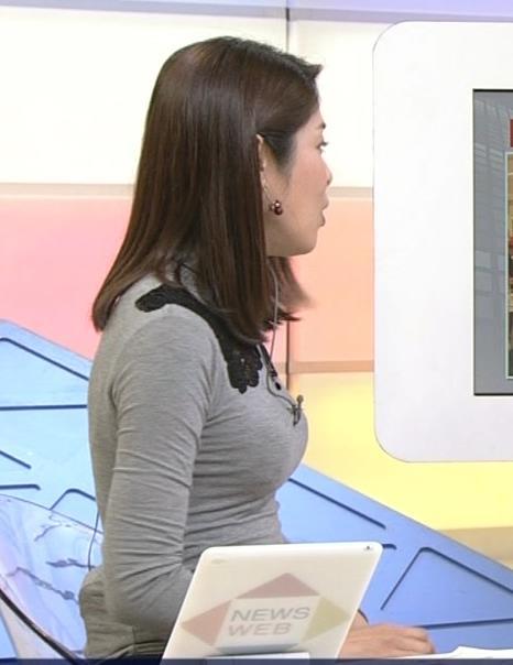 鎌倉千秋 タイトすぎる衣装でおっぱいが大変なことにキャプ画像(エロ・アイコラ画像)